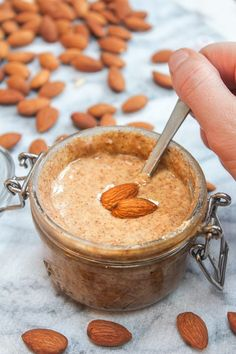 Homemade Almond Butter – almonds meet blender. Easy!  Homemade almond butter So creamy. So versatile. So deceptively simple. You probably already know that on some level, but until you try it for yourself you don't know just how easy it actually is. The most difficult part is practicing a bit of patience which, let's be...Read More »