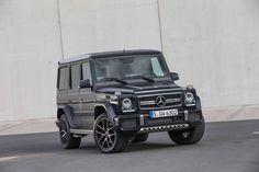 2016 Mercedes-Benz G-Class Gets More Power and Speed