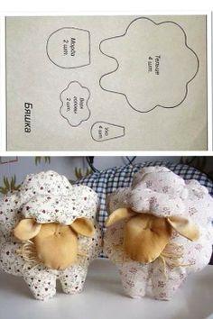 Lamb/sheep dolls #cute