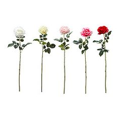 SMYCKA Artificial flower, Rose assorted colors - IKEA
