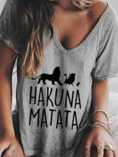 Cotton Short Sleeve Boho Shirts & Tops Printed Blouse, Printed Cotton, Tops Boho, Blouses For Women, T Shirts For Women, Alphabet, Casual T Shirts, Cotton Shorts, Types Of Sleeves