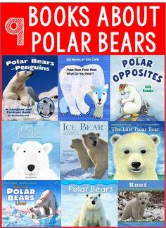 Books About Polar Bears Kindergarten Books, Preschool Books, Book Activities, Preschool Themes, Winter Activities, Preschool Winter, Artic Animals, Cute Baby Animals, Wild Animals