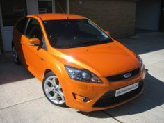 2009 Ford Focus ST-3 Electric Orange - Steve Coulter Performance Cars - Buying & Selling All RS & ST Models Nationwide