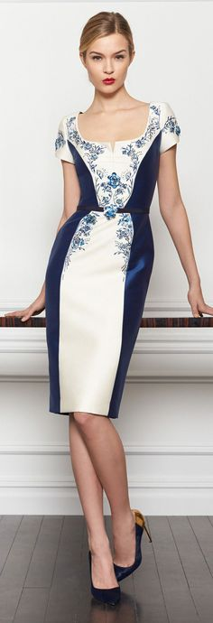 Carolina Herrera Pre Fall 2013 Collection