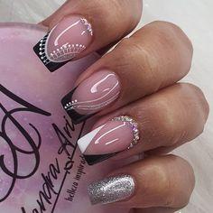 Gel Nails, Acrylic Nails, Manicure, Ambre Nails, Home Nail Salon, French Tip Nails, Nail Art Galleries, Galaxy Wallpaper, Simple Nails