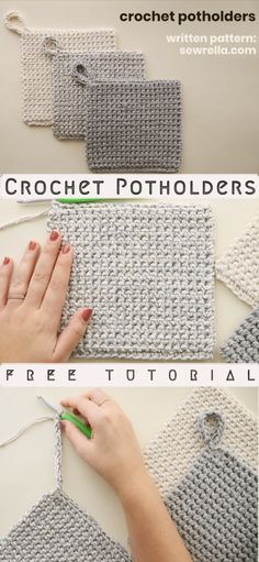 Today I want to introduce you How to Crochet Potholders Pattern, Wonderful Crochet Project. I had long wondered what might have been a creature suitable for hot days, and at last I stopped. Crochet Diy, Crochet Home Decor, Crochet Hooks, How To Crochet, Crochet Cats, Crochet Birds, Crochet Animals, Easy Knitting Projects, Easy Knitting Patterns