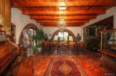 """Calling all corsairs, scallywags, picaroons, and rapscallions: over in Riverside, Calif., a Pirates of the Caribbean-inspired manse has hit the market for $2.299M. Inside the """"incredible Spanish..."""