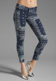 Bandana printed pants revolveclothing.com