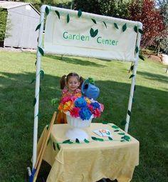 pretend garden center