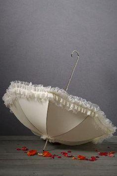 umbrella - delicate and ladylike!