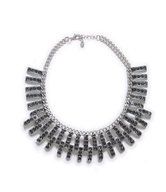 Image 1 of CHAIN NECKLACE WITH SPARKLES APPLIQUÉ from Zara
