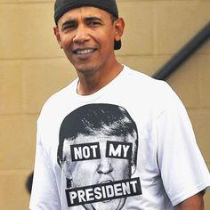 PrintLiberation.com #Obama #notmypresident #trumpsucks #omg # #inaguration2017 #printliberation #raiseyourvoice