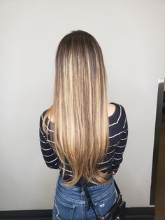 Balayage hair for brunettes!