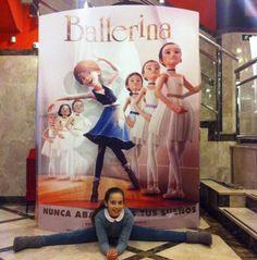 """Os recomendamos una peli de animación """"BALLERINA"""" para amantes del ballet  en la que destacan los valores de los protagonistas y con dosis de humor, por supuesto. ¡Estreno el viernes!"""