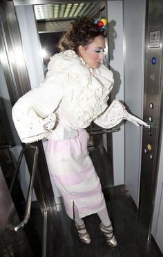 Colección SWEET SUGAR otoño/invierno 2012/13  modelo Maria del Pilar lozano Lorente
