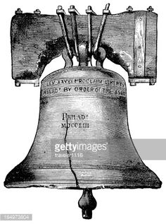 The Liberty Bell Stock Illustration   Getty Images