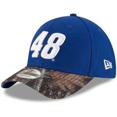 Jimmie Johnson New Era TrueTimber 39THIRTY Flex Hat - Royal Camo 48d81e79aa71