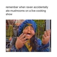 Yup, one time I was looking through tv shows to watch, I actually saw that so raven and immediately started to sing part of the theme song. Tumblr Funny, Funny Memes, Hilarious, Tv Memes, Jokes, Old Disney Channel, That's So Raven, Disney Shows, I Love To Laugh