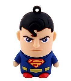 Memoria pendrive USB 8gb de Superman
