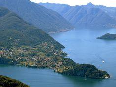 Italy, Lake Como. View of Bellagio. #lakecomo #lakecomowedding #destinationwedding