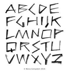 Alphabet Rubber by © Marco Campedelli — www.marcocampedelli.it