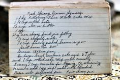 A classic vintage recipe from the files - Red Cherry Dream Squares