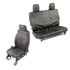 Ballistic Seat Cover Set, 2 Door by Rugged Ridge ('07-'10 Jeep Wrangler JK)