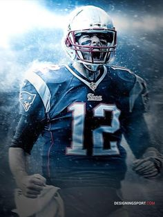 Designing Sport — Tom Brady, New England Patriots Best Football Team, Patriots Football, Football Memes, Football Season, Football Players, England Football, Football Art, Nfl Sports, Sports Art