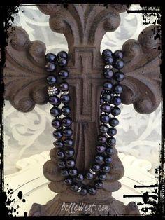 ❥ BelleWest.com~ black pearls