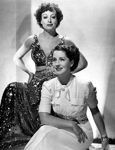 Joan Crawford & Norma Shearer