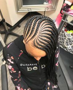 Flawless braids by @nisaraye - https://blackhairinformation.com/hairstyle-gallery/flawless-braids-nisaraye-9/ #naturalhairstyles