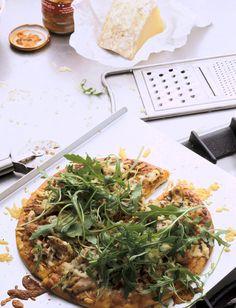 Recetas Glamour: pizza