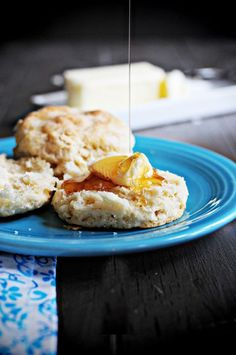 Buttermilk Biscuits -  dineanddish.net