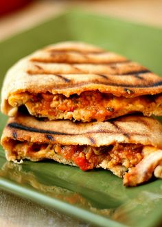 grilled whole wheat calzones