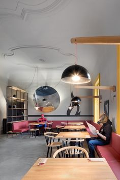 Image 1 of 30 from gallery of Chicago Grill  / Mjölk Architekti. Photograph by Boys Play Nice