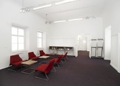 Czech Chambre of Architects - lobby interior design by MOAD architects
