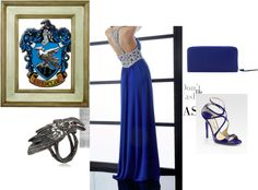 """Ravenclaw"" by myra-bexx-draven on Polyvore"