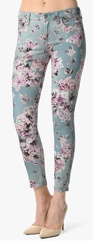 THE ANKLE SKINNY IN VICTORIAN FLORAL