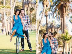 J Wiley Photography Santa Monica Los Angeles Southern California Wedding Photographer Engagement Photos Beach Candid Pier Bicycle-1