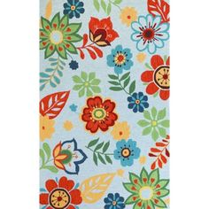 Add a festive pop to your space with the KAS Rugs Sonesta 20 Retro Floral Area Rug , which comes in your choice of color. With its bright floral. Floral Area Rugs, Retro Floral, Room Rugs, Child's Room, Sun Room, Contemporary Rugs, Throw Rugs, Color Inspiration, Color Schemes