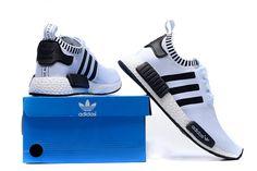 uk availability 3e026 9d61c Adidas Logo Originals Dames NMD Runner PK Schoenen Wit Zwart Online  Nuggwifee, Adidas Logo,