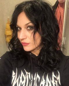 Image may contain: 1 person, closeup Ladies Of Metal, Metal Girl, Cristina Scabbia, Women Of Rock, Rocker Chick, Gothic Metal, Women In Music, Dark Beauty, Female Singers