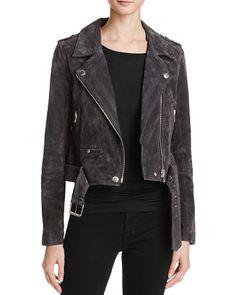 BLANKNYC Suede Moto Jacket - 100% Bloomingdale's Exclusive