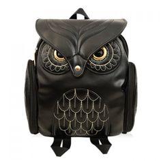$18.99 Preppy Owl Pattern and Stitching Design Women's Satchel