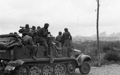 Leibstandarte at Mariupol - captured on October 8, 1941. In early September 1941, the Leibstandarte rejoined the advance towards the Sea of Azov, meeting heavy enemy resistance as the Red Army's battered divisions pulled back towards the Crimean Peninsula. Dietrich's men then swung east, heading towards Rostov on the Don, capturing Romanovka, Berdyansk and Mariupol in the face of bitter fighting.