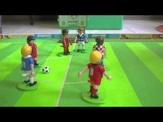 Stop motion filmpje voetbal