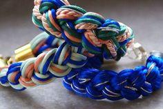 Be Stylish and Beautiful: DIY Bracelets - part 1: Braided Bracelets