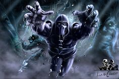 noob saibot artwork