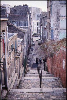 ©Armand Borland - Passage Julien Lacroix / Paris 20ème