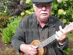 """He's so great at teaching ukulele!  I've been telling my students to check him out on youtube, especially for mastering all those different kinds of strums.    SCARBOROUGH FAIR for UKULELE - UKULELE LESSON / TUTORIAL by """"UKULELE MIKE"""""""